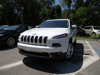 2017 Jeep Cherokee Limited SEFFNER, Florida