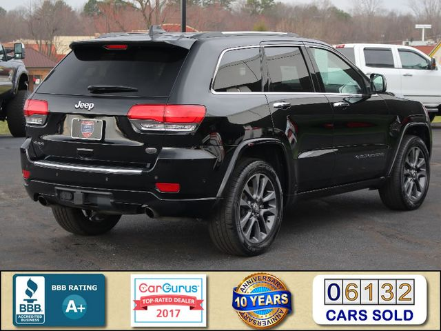 2017 Jeep Grand Cherokee Overland 4WD - JEEP ACTIVE SAFETY GROUP! Mooresville , NC 2