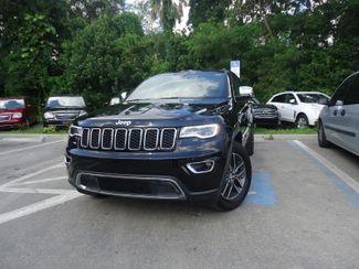 2017 Jeep Grand Cherokee Limited. LUXURY GRP. PANORAMIC. NAVIGATION SEFFNER, Florida