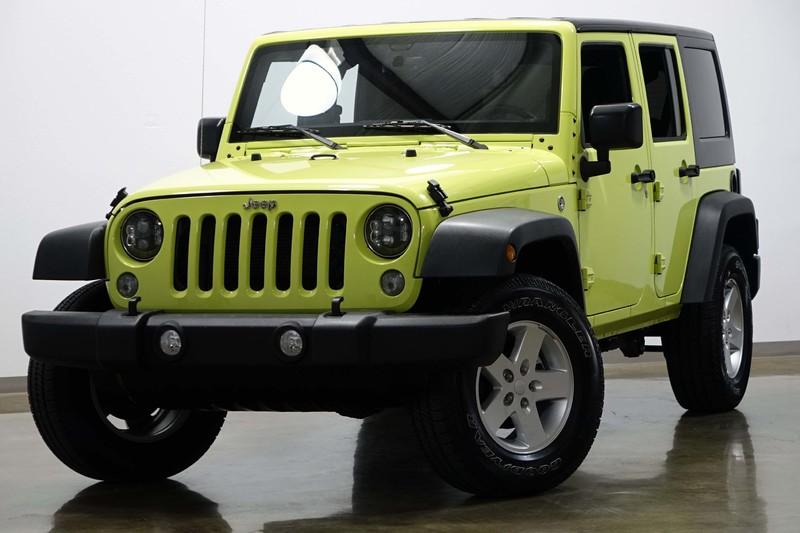 2017 Jeep Wrangler Unlimited Sport in Dallas Texas