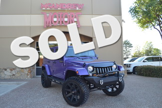 2017 Jeep Wrangler Unlimited Sahara PURPLE in Arlington, TX Texas