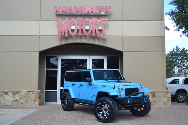 2017 Jeep Wrangler Unlimited Sahara | Arlington, Texas | McAndrew Motors in Arlington Texas