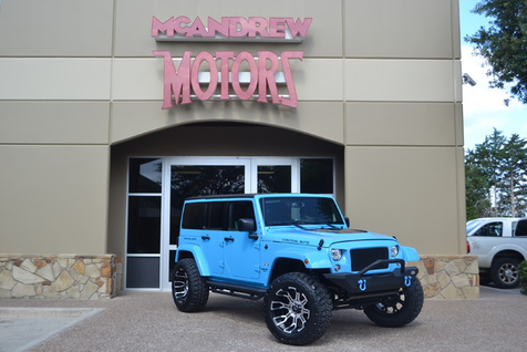 2017 Jeep Wrangler Unlimited Sahara | Arlington, Texas | McAndrew Motors in Arlington, Texas