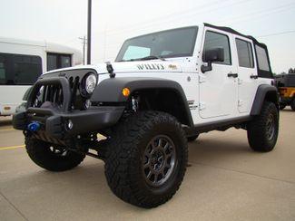 2017 Jeep Wrangler Unlimited Willys Wheeler Bettendorf, Iowa