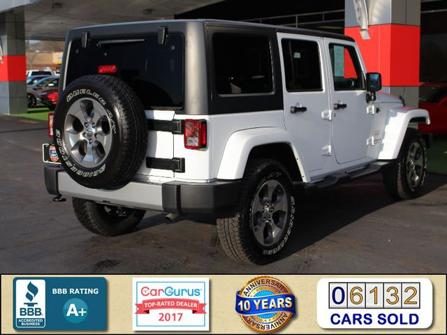 2017 Jeep Wrangler Unlimited Sahara 4X4 - ONE OWNER! Mooresville , NC 2