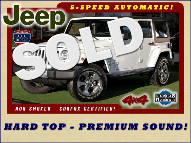 2017 Jeep Wrangler Unlimited Sahara 4X4 - ONE OWNER! Mooresville , NC 0