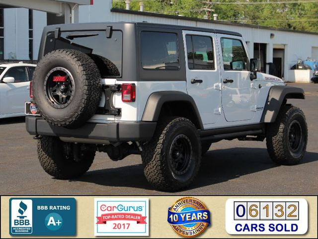 2017 Jeep Wrangler Unlimited Rubicon 4X4 - LIFTED - LOT$ OF EXTRA$! Mooresville , NC 2