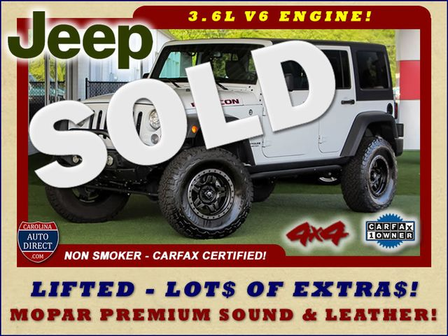 2017 Jeep Wrangler Unlimited Rubicon 4X4 - LIFTED - LOT$ OF EXTRA$! Mooresville , NC 0