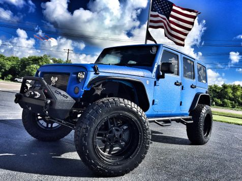 2017 Jeep Wrangler Unlimited RHINO CUSTOM LIFTED LEATHER HARDTOP in , Florida