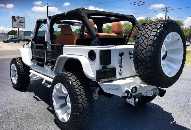 about 2017 jeep wrangler custom white out lifted leather hardtop. Cars Review. Best American Auto & Cars Review