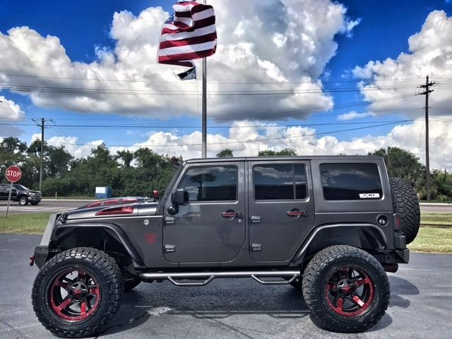 Red Fire Granite : Jeep wrangler unlimited granite fire red custom