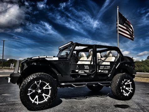 2017 Jeep Wrangler Unlimited FAB FOURS CUSTOM LIFTED LEATHER HARDTOP 37