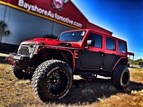 2017 Jeep Wrangler Unlimited RUBICON RHINO TWO-TONE LEATHER HARDTOP in , Florida