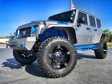 2017 Jeep Wrangler Unlimited CUSTOM LIFTED LEATHER HARDTOP DV8 OCD in , Florida