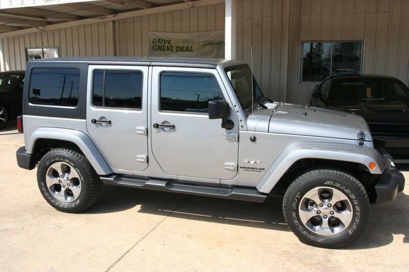 2017 Jeep Wrangler Unlimited Sahara in Vernon Alabama