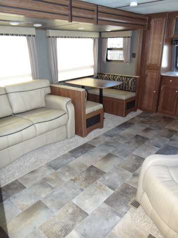2017 Keystone Sprinter Campfire Edition 29FK Dual Slide Front Kitchen | Colorado Springs, CO | Golden's RV Sales in Colorado Springs, CO