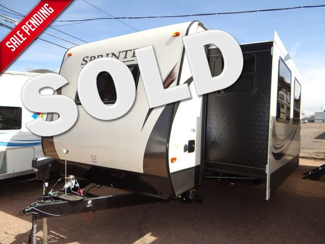 2017 Keystone Sprinter Campfire Edition 29FK Dual Slide Front Kitchen | Colorado Springs, CO | Golden's RV Sales in Colorado Springs CO