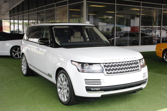 2017 Land Rover Range Rover SUPERCHARGED L 4WD - VISION ASSIST & DRIVE PKGS! Mooresville , NC 21