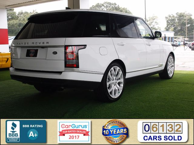 2017 Land Rover Range Rover SUPERCHARGED L 4WD - VISION ASSIST & DRIVE PKGS! Mooresville , NC 2