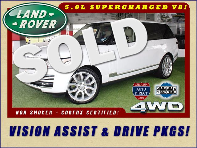 2017 Land Rover Range Rover SUPERCHARGED L 4WD - VISION ASSIST & DRIVE PKGS! Mooresville , NC 0
