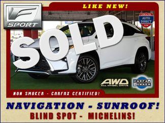 2017 Lexus RX 350 F Sport AWD - NAVIGATION - SUNROOF - BLIND SPOT Mooresville , NC