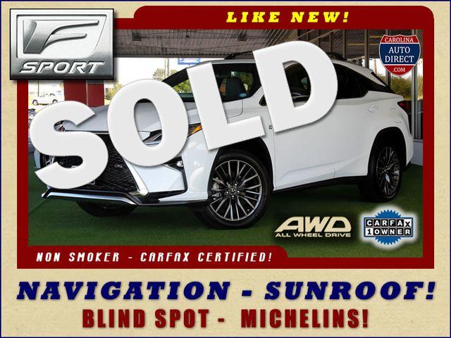 2017 Lexus RX 350 F Sport AWD - NAVIGATION - SUNROOF - BLIND SPOT Mooresville , NC 0