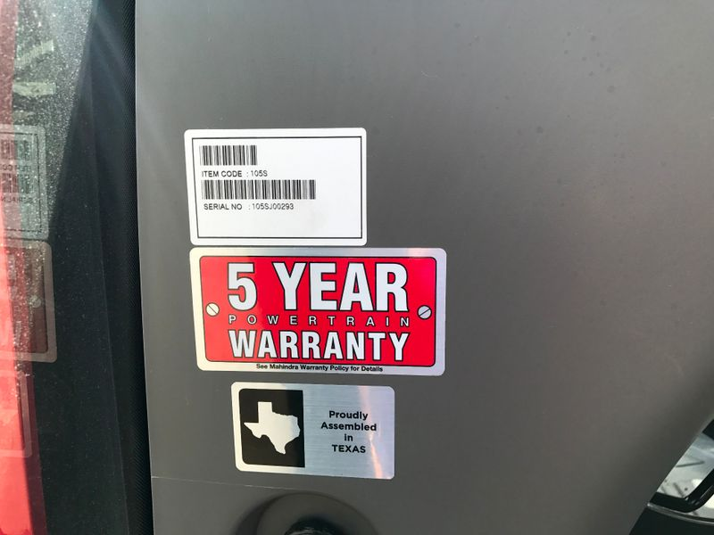 2017 Mahindra 105 SHUTTLE WAG TIRES   city TX  North Texas Equipment  in Fort Worth, TX