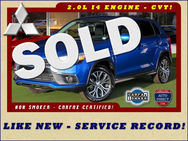 2017 Mitsubishi Outlander Sport ES 2.0 FWD - ONE OWNER - SERVICE RECORD! Mooresville , NC 0