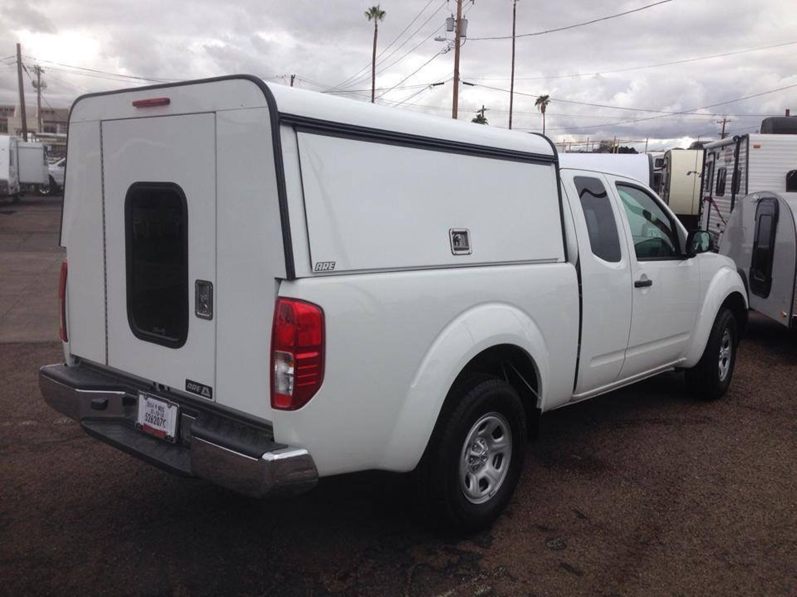 2017 Nissan Camper Shell Truck Toppers Truck Caps Mesa