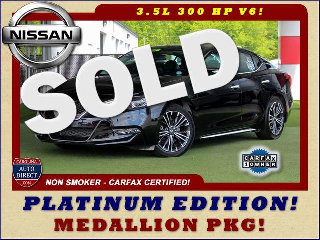 2017 Nissan Maxima Platinum FWD - MEDALLION PKG! Mooresville , NC 0