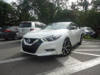 2017 Nissan Maxima SV. LEATHER. NAVIGATION. HTD SEATS SEFFNER, Florida 4