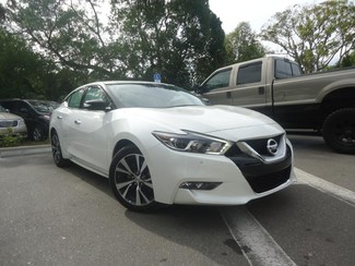 2017 Nissan Maxima SV. LEATHER. NAVIGATION. HTD SEATS SEFFNER, Florida 5