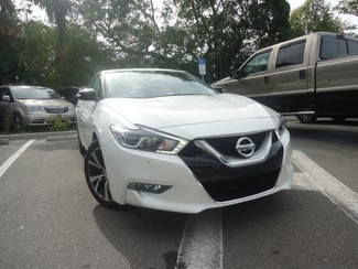 2017 Nissan Maxima SV. LEATHER. NAVIGATION. HTD SEATS SEFFNER, Florida 6