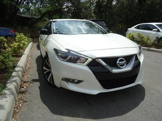 2017 Nissan Maxima SV. LEATHER. NAVIGATION. HTD SEATS SEFFNER, Florida 10