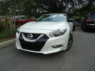 2017 Nissan Maxima SV. LEATHER. NAVIGATION. HTD SEATS SEFFNER, Florida 7