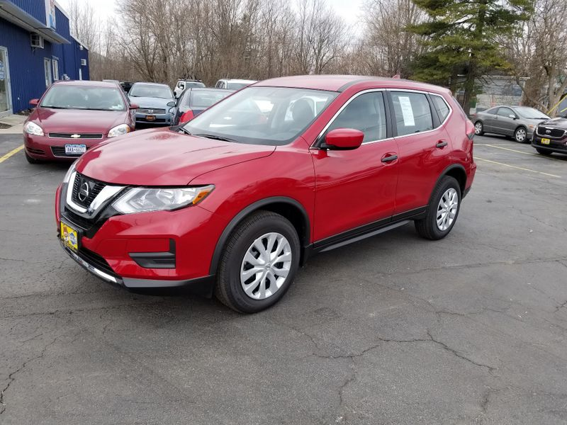 2017 Nissan Rogue S AWD | Rishe's Import Center in Ogdensburg New York