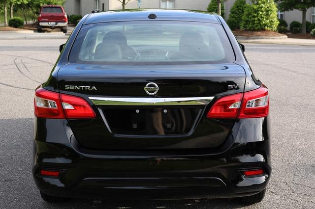 2017 Nissan Sentra SV Mooresville, North Carolina 56