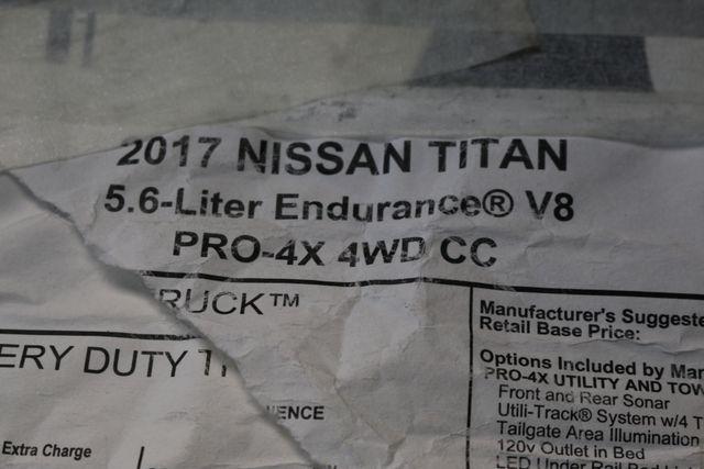 2017 Nissan Titan PRO-4X Mooresville, North Carolina 59