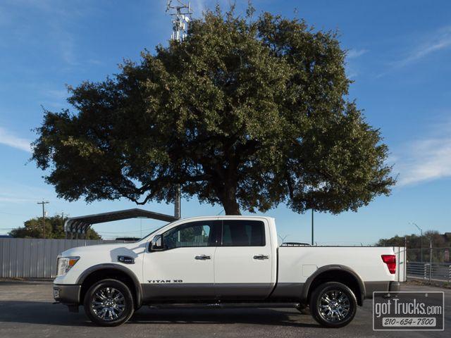 2017 Nissan Titan XD Crew Cab Platinum Reserve 5.0L Cummins Diesel 4X4 | American Auto Brokers San Antonio, TX in San Antonio Texas