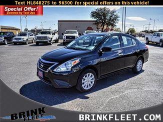 2017 Nissan Versa Sedan S Auto *Ltd Avail* | Lubbock, TX | Brink Fleet in Lubbock TX