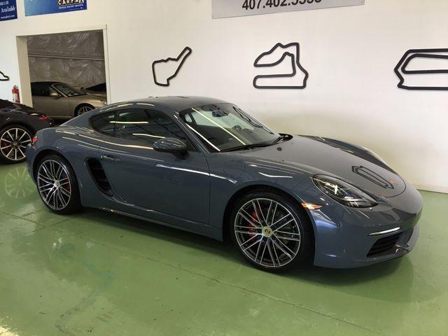 2017 Porsche 718 Cayman S Longwood, FL 1