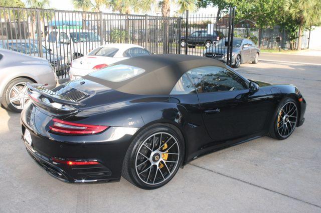 2017 Porsche 911 Turbo S Houston, Texas 8