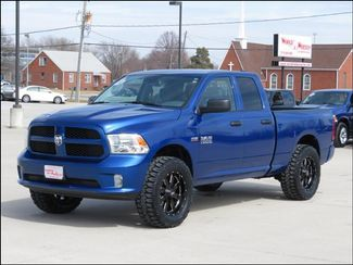 2017 Ram 1500 Express 4WD Lifted/BlackMOTOMETAL20s/MudTerrains in  Iowa