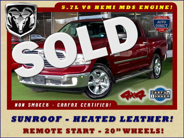 2017 Ram 1500 Big Horn Crew Cab 4x4 - SUNROOF - HEATED LEATHER! Mooresville , NC 0