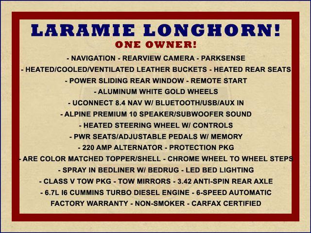 2017 Ram 3500 Laramie Longhorn Crew Cab 4x4 - CUMMINS! Mooresville , NC 1