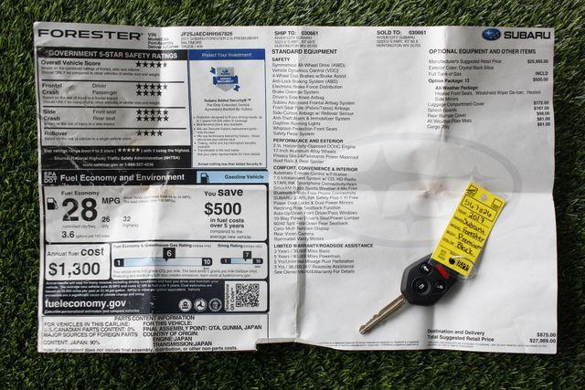 2017 Subaru Forester Premium AWD - ALL WEATHER PKG! Mooresville , NC 4