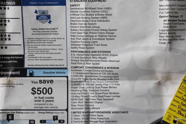 2017 Subaru Forester Premium AWD - ALL WEATHER PKG! Mooresville , NC 42