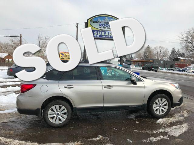 2017 Subaru Outback Premium Golden, Colorado 0
