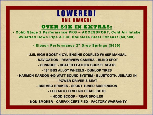 2017 Subaru WRX STI Limited AWD - LOWERED - EXTRA$! Mooresville , NC 1