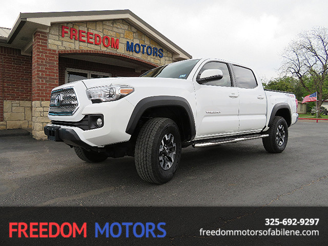 2017 Toyota Tacoma TRD Off Road 4x4 | Abilene, Texas | Freedom Motors  in Abilene Texas
